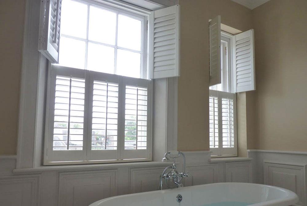 tier-on-tier window shutters
